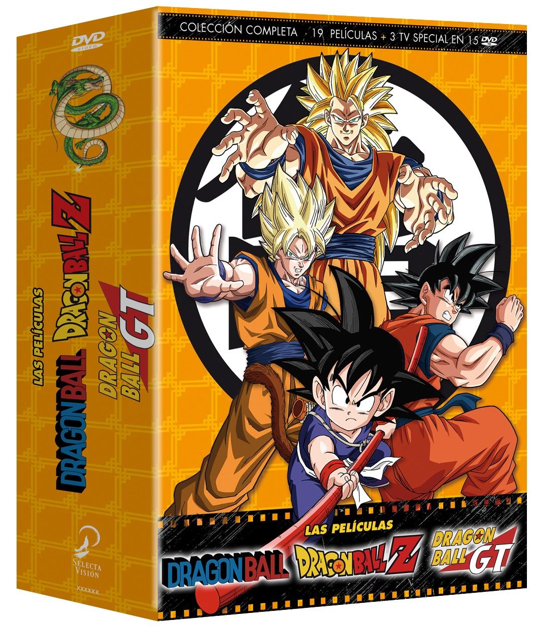 Dragon Ball, Z & GT, Las Películas - Colección completa