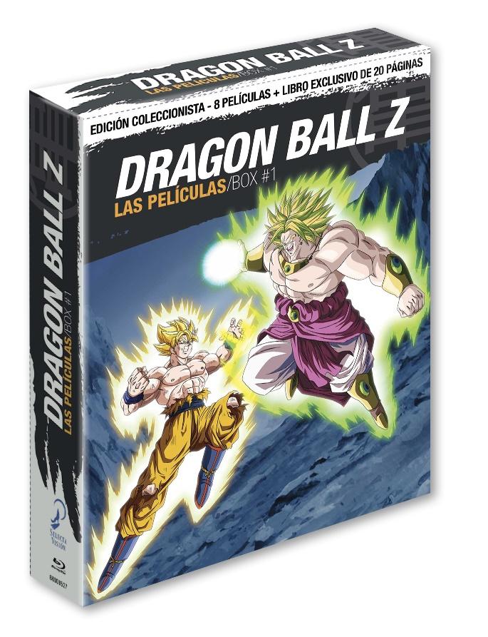 Dragon Ball Z, Las Películas Pack 1 (Ed. Coleccionistas)