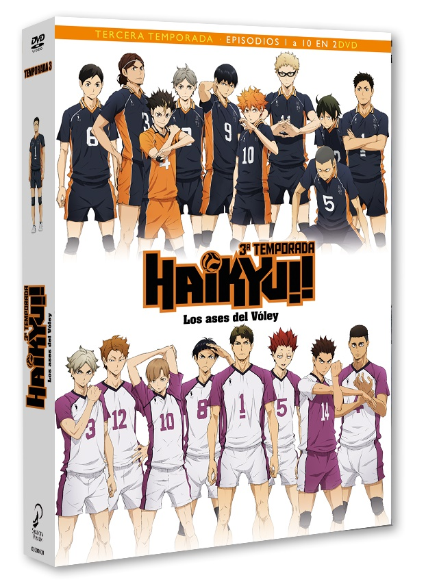 Haikyu T3 DVD