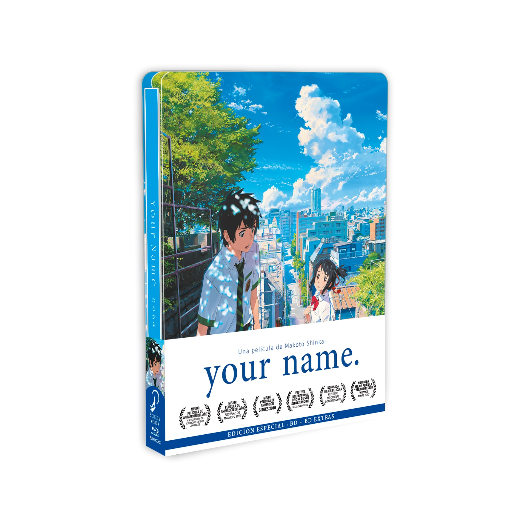 your name. (Metal Box) con Pulsera