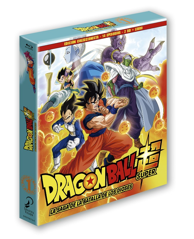 Dragon Ball Super, Box 01 - Saga de la Batalla de los Dioses (First Print Edition)