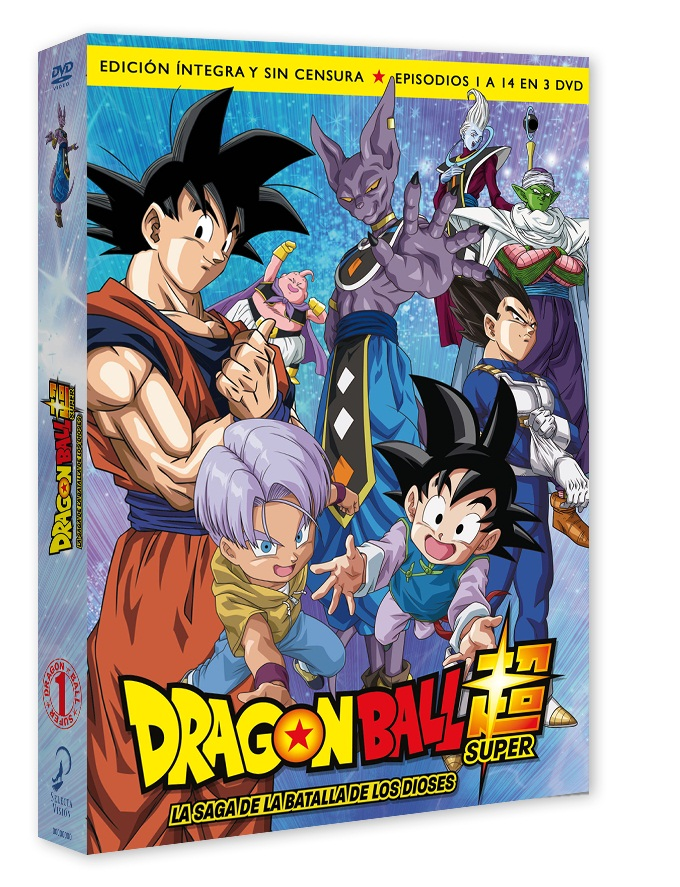 Dragon Ball Super, Box 01 - Saga de la Batalla de los Dioses