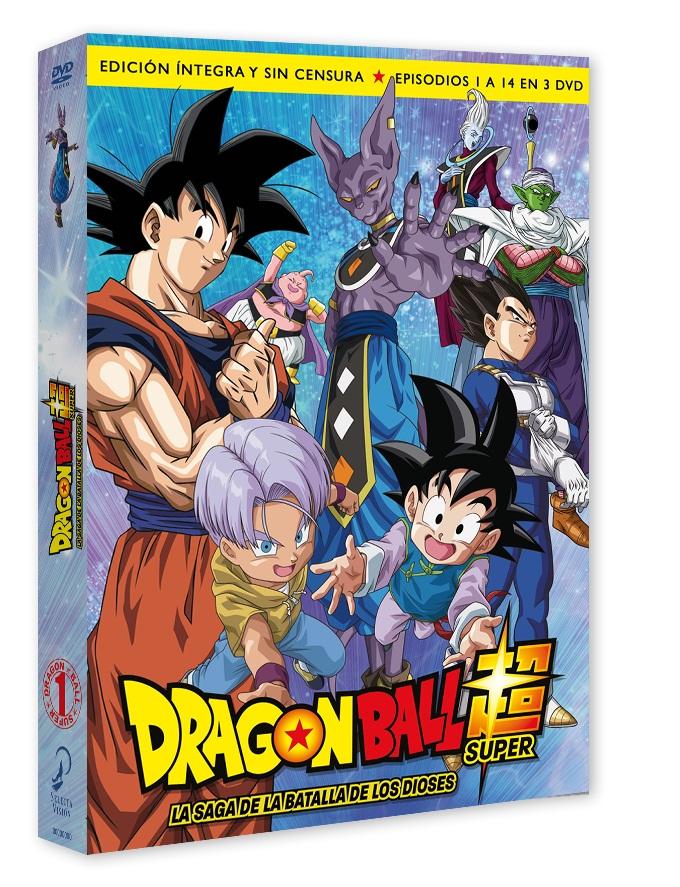 Dragon Ball Super, Box 01 - Saga de la Batalla de los Dioses
