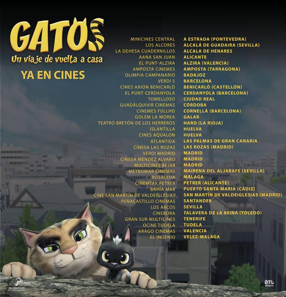Gatos Cine Semana 3