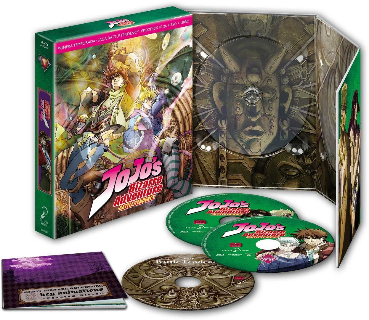 Jojo´s Bizarre Adventure, Temporada 1 - Parte 2: Battle Tendency (First Print Edition)