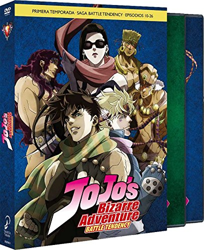 Jojo´s Bizarre Adventure, Temporada 1 - Parte 2: Battle Tendency