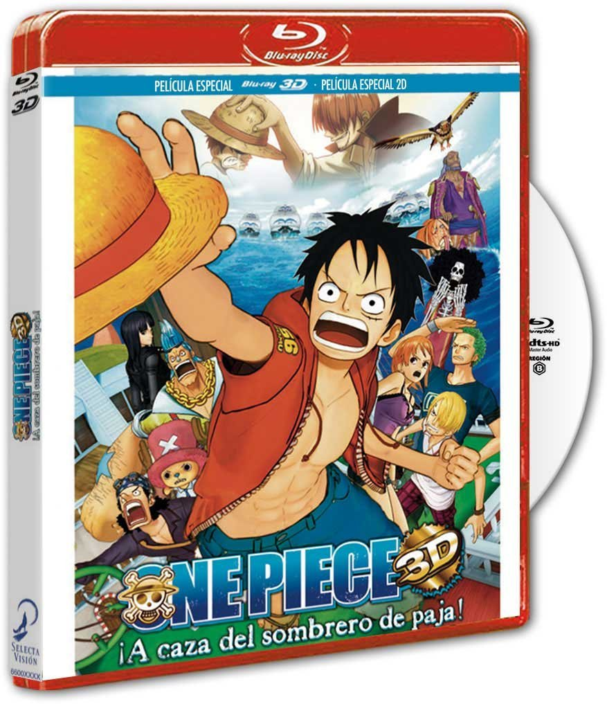 One Piece 3D BD