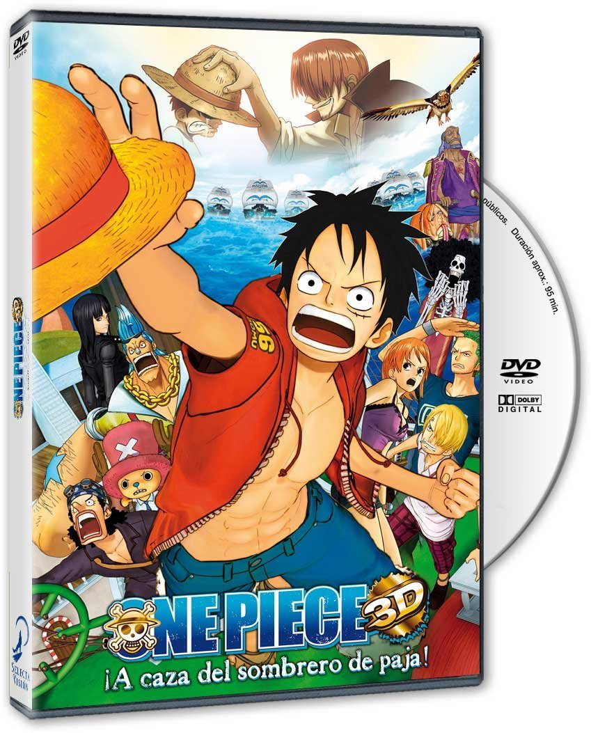 One Piece 3D DVD