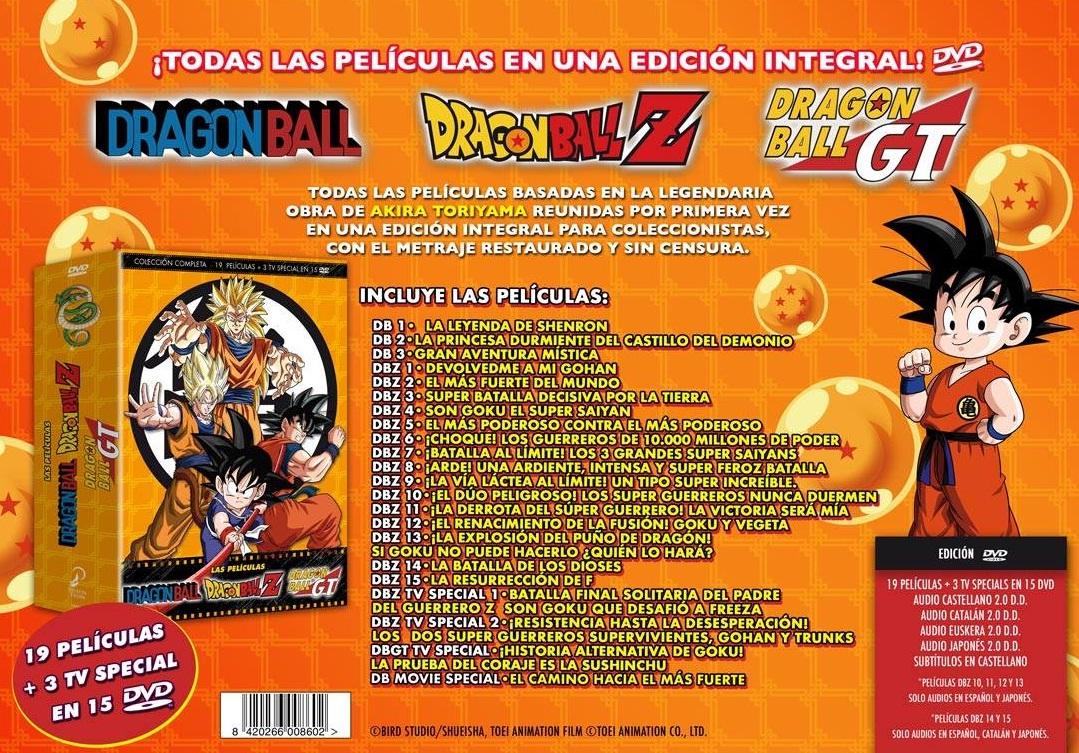 Pelis Dragon Ball