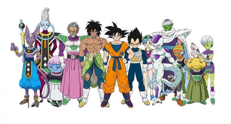 personajes bola de dragon