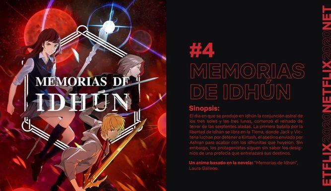 Memorias de Idhún llegará a Netflix en colaboración con Motion