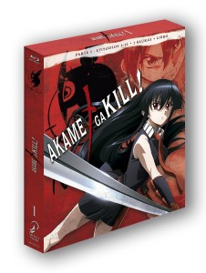 Akame ga Kill!, Box 01 (First Print Edition)