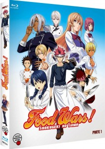 Food Wars! (Shokugeki no Soma) , Temporada 1 - Parte 1