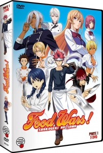 Food Wars! (Shokugeki no Soma), Temporada 1 - Parte 1