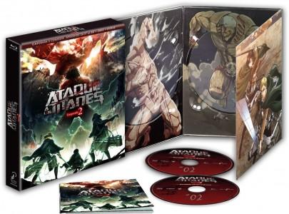 Ataque a los Titanes, Temporada 2 (Edición Coleccionistas)