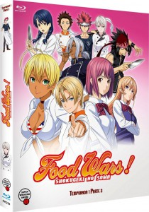 Food Wars! (Shokugeki no Soma) , Temporada 1 - Parte 2