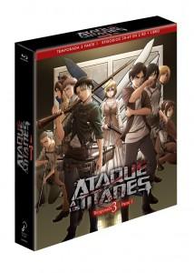 Ataque a los Titanes, Temporada 3 - Parte 1 (Edición Coleccionistas)