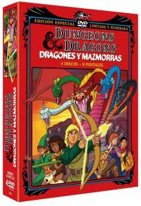 Dragones y Mazmorras (Edición Limitada + 8 Postales)