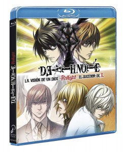 Death Note Relight Pack 2 películas