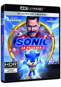 Sonic: La Película (4K UHD + BD)