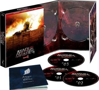 Ataque a los Titanes, Temporada 1 (Ed. Coleccionistas)