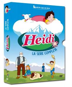 Heidi (Edición Copo de Nieve). Serie completa restaurada