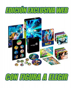 Dragon Ball Super Broly, Edición Coleccionistas A4 + Figura