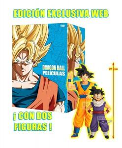 Dragon Ball y Dragon Ball GT: Las Películas + Figura
