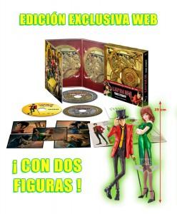Lupin III: The First, Edición Coleccionistas + Figura