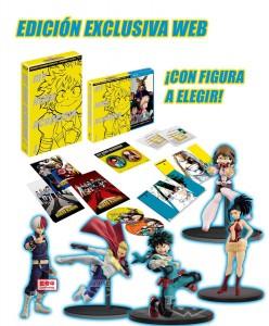 My Hero Academia, Temporada 1 (Edición Coleccionistas A4) + Figura