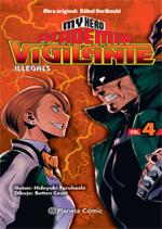 My Hero Academia Vigilante Illegals