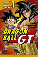 Dragon Ball GT Anime Comics